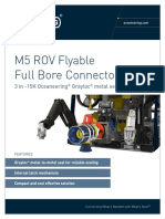 OCS M5 ROV Flyable Full Bore Connector 3in