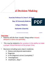 1 Clinical Decision Making 2