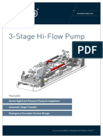 ST&R High Flow Pump (3 Stage)