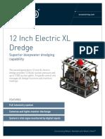 ST&R 12 Inch Electric XL Dredge