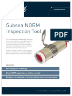 ST&R Subsea NORM Inspection Tool