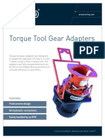 ST&R Torque Tool Gear Adapter