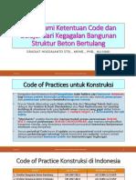 Memahami Ketentuan Code Dan Belajar Dari Kegagalan Bangunan (1)
