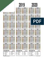 Kalendar 2018-2020