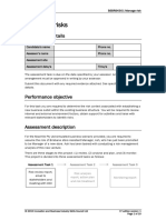 BSBRSK501 Assessment Task 1