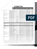 Seal Kit for KOMATSU