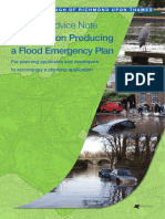 Final Guidance on Producing a Flood Emergency Plan Nov 2011