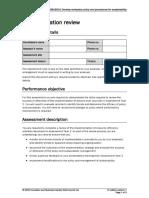 BSBSUS501 Assessment Task 3