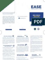 Flyer com informações sobre a TSA