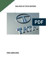 Pest Analysis of Tata Motors