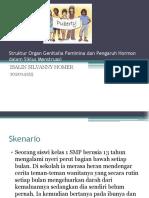 Struktur Organ Genitalia Feminina Dan Pengaruh Hormon Dalam