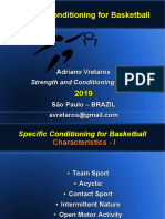 Specific Conditioning for Basketball