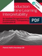 ML Interperatability