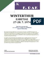 1560-WINTERTHUR 27-28. JULI 1974