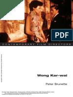 Wong Kar-Wai Wong Kar-Wai