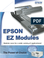 Epson EZ Modules Brochure (Revision F)