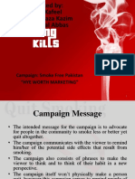 Anti Smoking Campaign.-1