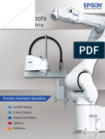Epson Robots Product Specifications Catalog