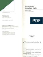 El Horroroso Monstruo Lindo PDF PDF
