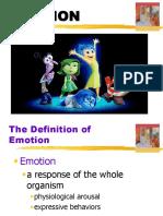Emotion Week 8 PDF