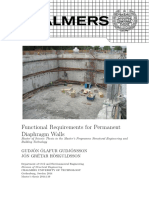 Req 4 Diaphragm Walls
