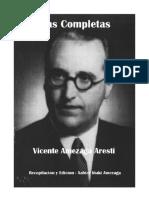 Poesias en Castellano - En El Camino Hacia America - Vicente Amezaga Aresti