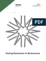 2018 Doing Business in Botswana