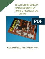 Análisis de La Comisión Verdad y La Reconciliación