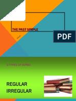 The Past Simple Presentation2