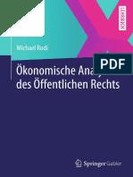 Michael Rodi. Ökonomische Analyse Des Recht