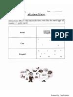matter unit test answer key