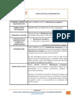 4. Ficha Tecnica de Producto Metarhizium Anisopliae