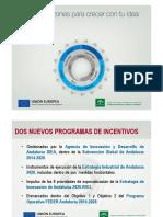 Órdenes de Incentivos 2017
