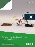 HackingSTEM ElectricidadParaComunicarse Instrucciones
