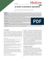 Acellular Dermal Matrix in Premature Ejaculation A