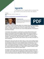 Islamist Migrants