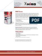 HIRO™ Thermo Product Profile