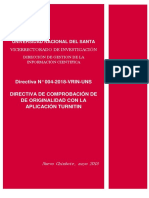 Directiva Nº 004 2018 Vrin Uns