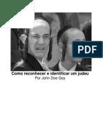 Como Reconhecer e Identificar Um Judeu