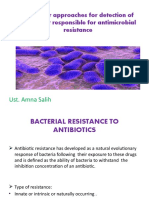 Molecular Approaches for Detection of Genes That Responsible for Antimicrobial Resistance