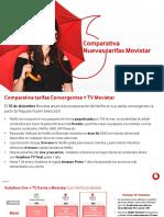 Comparativa Nuevas Tarifas Movistar
