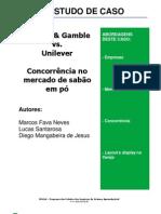 Estudo de Caso Procter e Gamble x Unilever