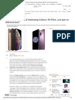 iPhone XS Frente Al Samsung Galaxy S9 Plus_ ¿en Qué Se Diferencian_ Artículo