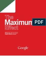 Guide Maximum Effect Adwords 27aug07