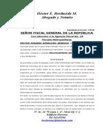 115 Def Pide Al Fiscal Reconocimiento Personal Del Imputado