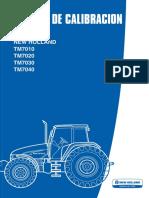 TM7000 Manual de Calibración Español
