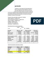 Casos Costo Import II