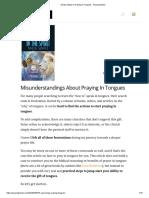5 Easy Steps to Praying in Tongues - Praying Medic