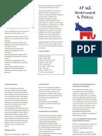 ap gov brochure