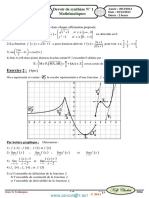 Devoir de Synthèse N°1 Avec correction- Math - 3ème Technique (2013-2014) Mr Kefi Chokri